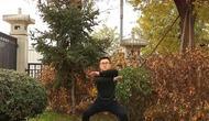 运动达人秀:交叉小常识,原地健身臂下蹲,瘦身瘦腿瘦肚子广源项目瘦身图片