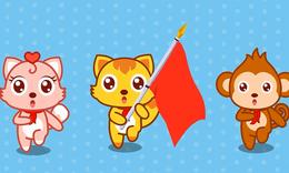 猫小帅儿歌:红星闪闪