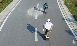 在滑板运动里遇见全新自我