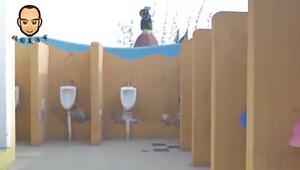 重庆这一奇葩厕所,建得像城堡,更加奇葩的是