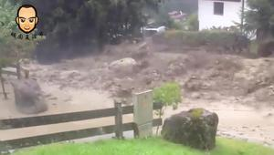泥石流到底有多厉害,要不是亲眼看到,简直不