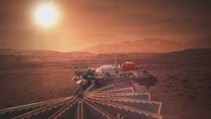 洞察者号已登录火星,它会遇到火星人吗?