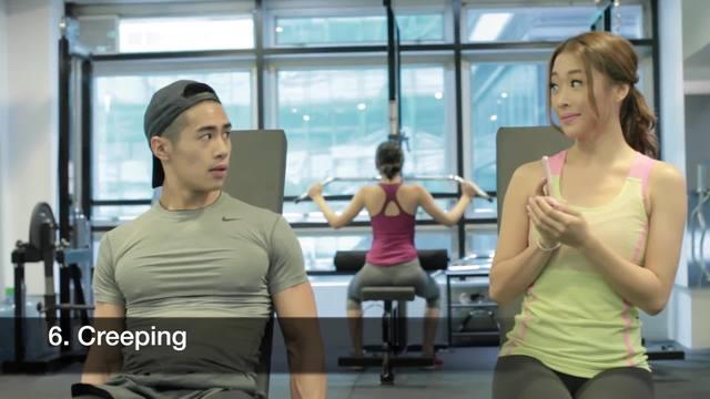 女孩在健身房到底在干些什么?