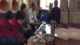 自驾游023:香格里拉镇热光村藏民家做客