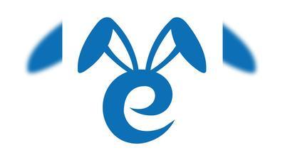 兔子商标矢量图