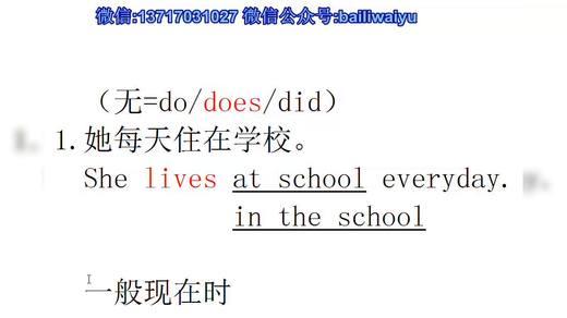8 五种基本时态二英语语法 英语四六级零基础学英语 英语音标