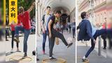 【街头测验】意大利人均职业球员? 仅有3人达到中国小学合格标准