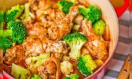 冬日营养美味:茄汁鸡翅锅