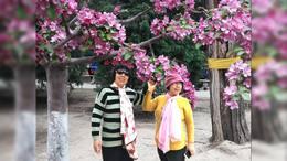 2019年绳氏四姐妹海棠花溪游记