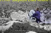 克罗地亚球星莫德里奇童年放羊片段