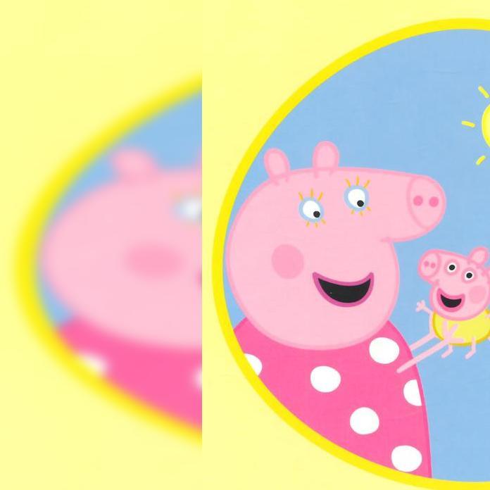 小猪佩奇粉红猪小妹佩佩乔治拼装面包车甜甜奇积乐园拼装积木超级飞侠
