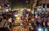 被游客挤爆的泰国夜市