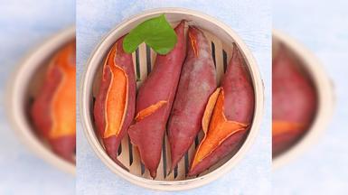 赣南三百山红蜜薯新鲜现挖农家红心香薯甜地瓜板栗红薯山芋非六鳌