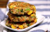 吃不胖的鸡肉蔬菜饼