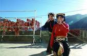 藏区美女养猪宰猪灌香肠