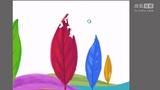 【蔡叔叔讲画】32.创意绘画之七彩树叶