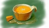 【蔡叔叔讲画】36.创意绘画之一杯橙
