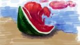 【蔡叔叔讲画】37.创意绘画之西瓜船