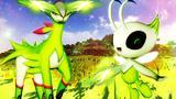 我的世界《神奇宝贝日月》58 土台龟坚果哑铃草系传说大师大战MEGA 模组生存 精灵宝可梦