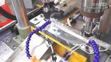 钻孔攻牙机|方螺母散热片全自动攻牙机攻丝机视频(大小料通用)