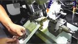 锌合金压铸六角盲孔产品自动攻牙机攻丝机视频