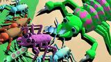【小熙解说】进化模拟器 一只昆虫进化出致命武器一口一个攻击
