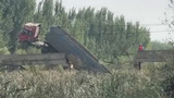 【山东】滨州一载重卡车将桥压断成3截 车尾坠河车头悬空