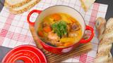 自制泰式餐厅的招牌菜,椰香味十足的泰式咖喱虾!
