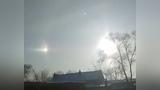 """长春出现天象奇观,天空出现3个""""太阳"""" 网友呼唤后裔来射日"""