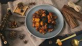 不能错过的秋天经典美食,香喷喷的板栗香菇烧鸡