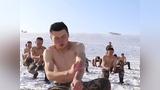 天山腹地零下15度,特战队员极寒条件下抗寒训练