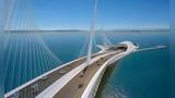 会钻到海底的桥,号称世界最美大桥,有钱太任性