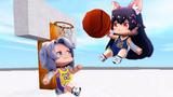 迷你世界测试服 清水搞怪投篮,这篮球玩的汤米要笑死了