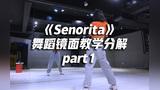 Lisa版《Senorita》舞蹈镜面分解教学part1,妩媚性感【口袋教学】