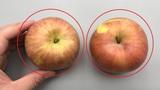 """挑选苹果有方法,牢记1个""""小机关"""",一眼能看出甜不甜,学学吧"""