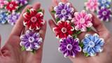 看看如何把泡沫纸做成花朵,不仅简单还非常漂亮!