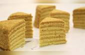 俄罗斯蜂蜜蛋糕