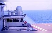 002型航母開啟第9次海試