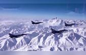 4架殲10C飛越珠峰得戰果