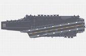 三號航母8萬噸配電磁彈射