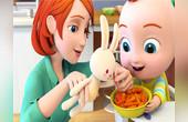 超级宝贝JOJO爱吃蔬菜
