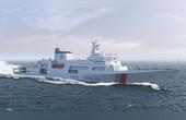 首艘万吨级海事船开建