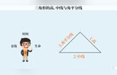 三角形高、中線與角平分線