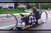 年度最拉风无轮胎摩托