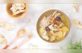 醇香的老人頭菌土雞湯