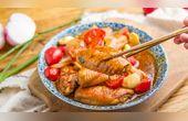 小羽私厨之番茄焖鸡翅
