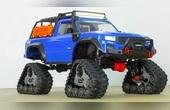 越野吉普车模型玩具套装开箱