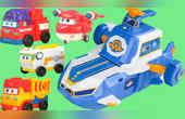 超级飞侠大飞船变形玩具