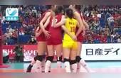 世界杯中国女排开门红  3-0横扫韩国
