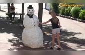 国外恶搞,吓人的雪人又来了,第17期